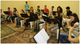 Organize and Run Annually the International Summer Band Camp 2