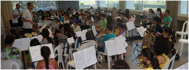 Organize and Run Annually the International Summer Band Camp 4