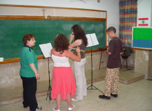 Teaching April 2013